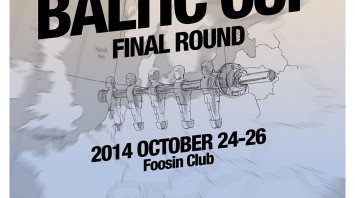 Baltic Cup Final Round starting on October 24-26 in Vilnius