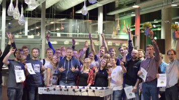 Highlights Of IT Foosball League In Kaunas